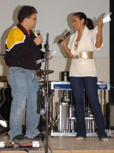 Senator Al Franken has been accused of lewd treatment by radio host Leeann Tweeden (right) during a 2006 trip abroad.